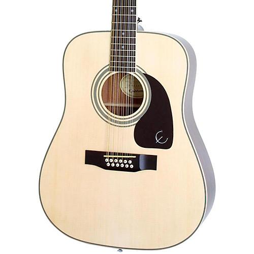 epiphone dr 212 12 string acoustic guitar musician 39 s friend. Black Bedroom Furniture Sets. Home Design Ideas