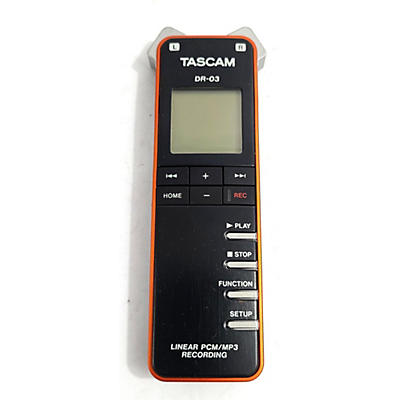 Tascam DR03 MultiTrack Recorder
