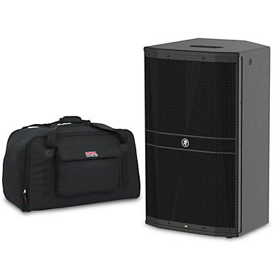 "Mackie DRM212 1,600W 12"" Professional Powered Speaker with Tote"