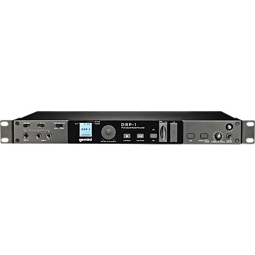 sd recorder pro audio mount inch digital card gemini video w rack usb drp