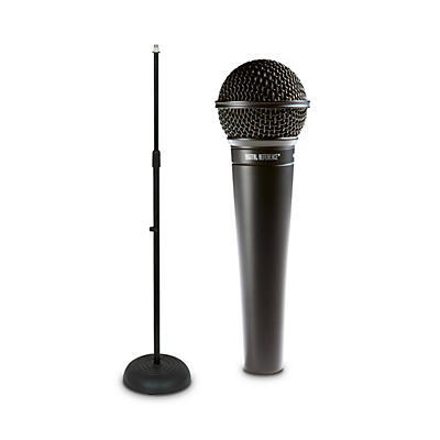 Digital Reference DRV100 Dynamic Cardioid Handheld Microphone And Mic Stand Package