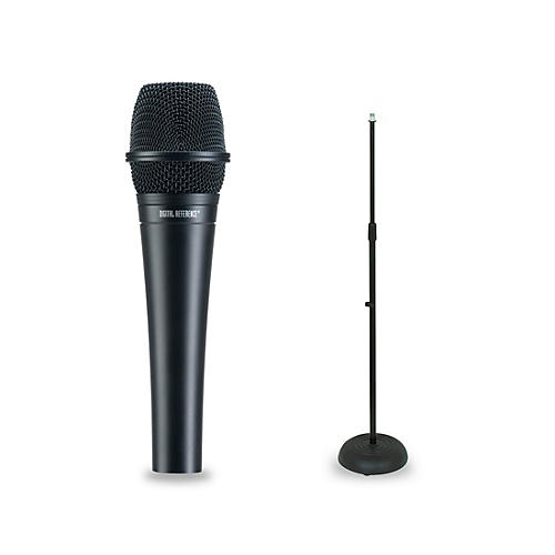 Digital Reference DRV200 Dynamic Lead Vocal Microphone and Mic Stand Package