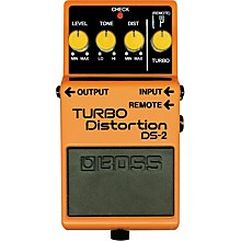 Open BoxBoss DS-2 Turbo Distortion Pedal with Remote Jack