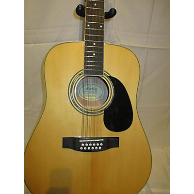 Mitchell DS120S12EN 12 String Acoustic Electric Guitar