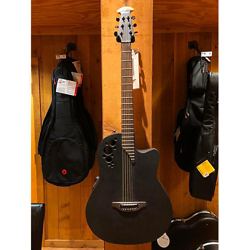 Ovation DS778TX Acoustic Electric Guitar Black