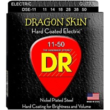 DR Strings DSE-11 Dragon Skin Coated Heavy Electric Guitar Strings