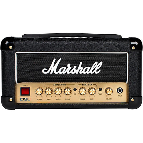 marshall dsl1hr 1w tube guitar amp head musician 39 s friend. Black Bedroom Furniture Sets. Home Design Ideas