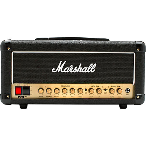marshall dsl20hr 20w tube guitar amp head musician 39 s friend. Black Bedroom Furniture Sets. Home Design Ideas