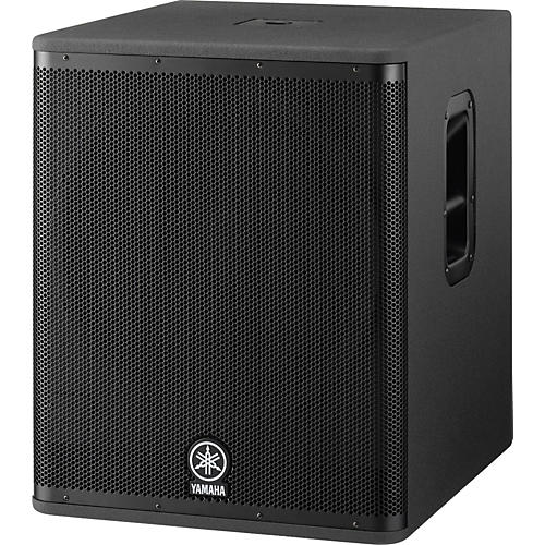 Yamaha dsr118w active subwoofer musician 39 s friend for Yamaha powered speakers review