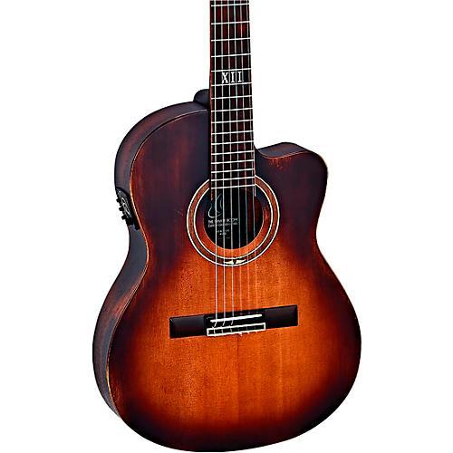 Ortega DSSUITE-C/E Nylon Acoustic-Electric Guitar Tobacco Brown Sunburst