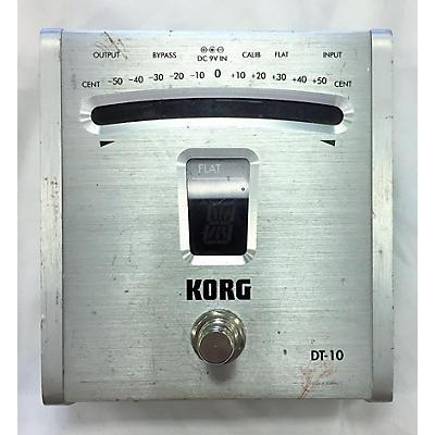 Korg DT10 Tuner Pedal
