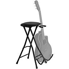 Open Box On-Stage DT7500 Guitarist Stool with Footrest