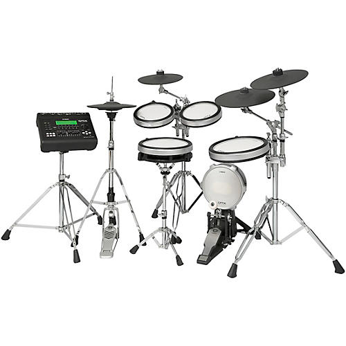 yamaha dtx920hwk electronic drum set with yamaha hardware pack musician 39 s friend. Black Bedroom Furniture Sets. Home Design Ideas