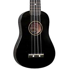 DU-10 Soprano Ukulele Black Black Fingerboard