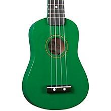DU-10 Soprano Ukulele Green Black Fingerboard