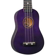 DU-10 Soprano Ukulele Purple Black Fingerboard