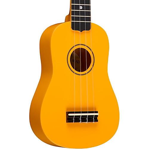 Diamond Head DU-10 Soprano Ukulele Yellow Black Fingerboard