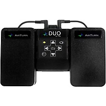 Open BoxAirTurn DUO BT-106 Wireless Pedal Control