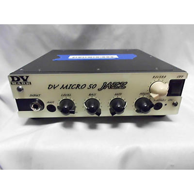 DV Mark DV Micro 50 JAZZ Solid State Guitar Amp Head