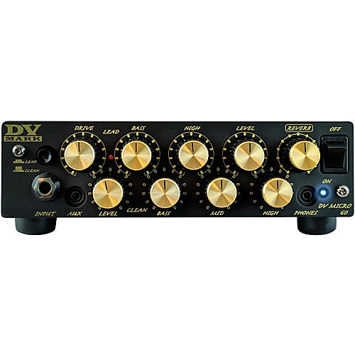 DV Mark DV Micro 60 60W Guitar Amp Head Black