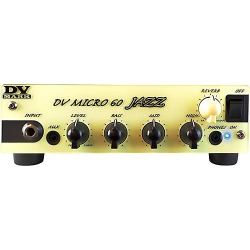 DV Mark DV Micro 60 Jazz 60W Guitar Amp Head Black and Beige