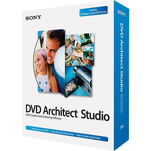 Sony DVD Architect Studio 4.5
