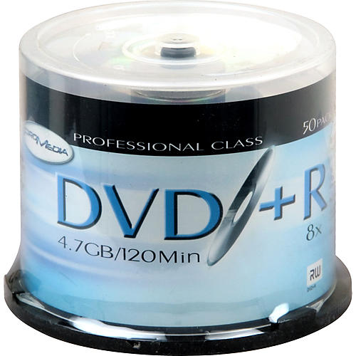 Pro Media DVD+R 8X 50-Pack