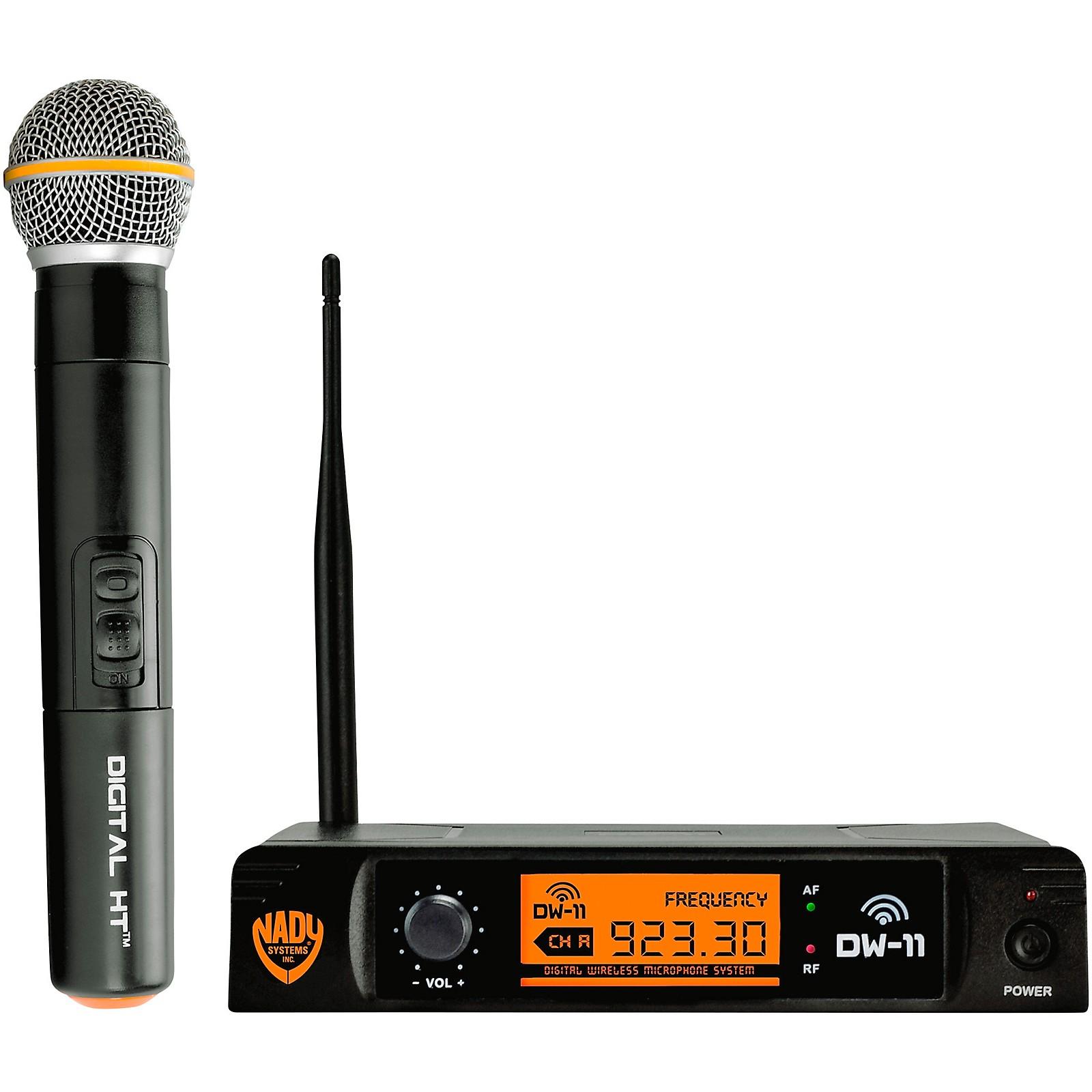 Nady DW-11 HT 24 bit Digital Handheld Wireless Microphone System