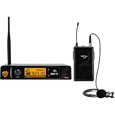 Nady DW-11 LT 24 bit Digital Lapel Wireless Microphone System