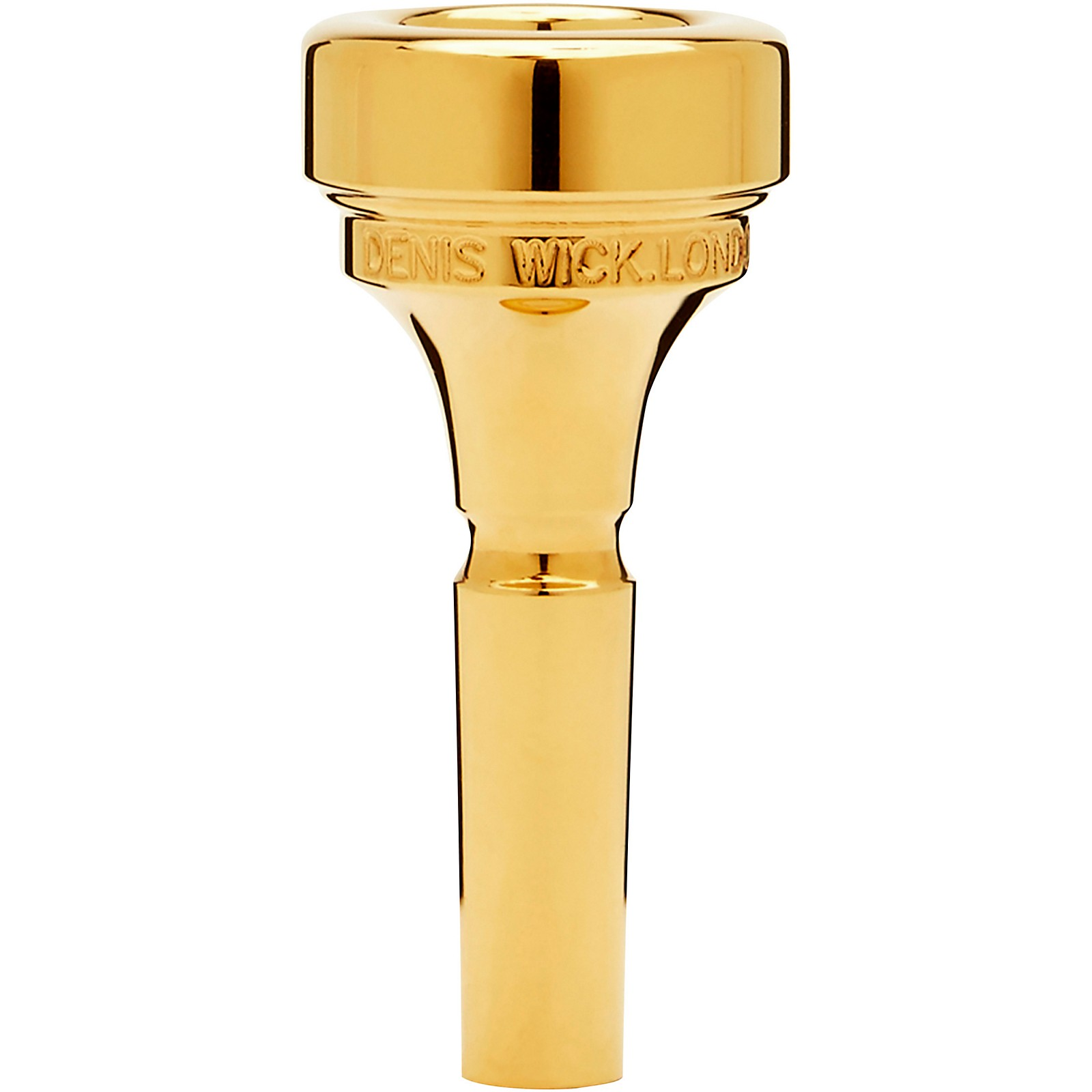 Denis Wick DW4881 Classic Series Cornet Mouthpiece in Gold
