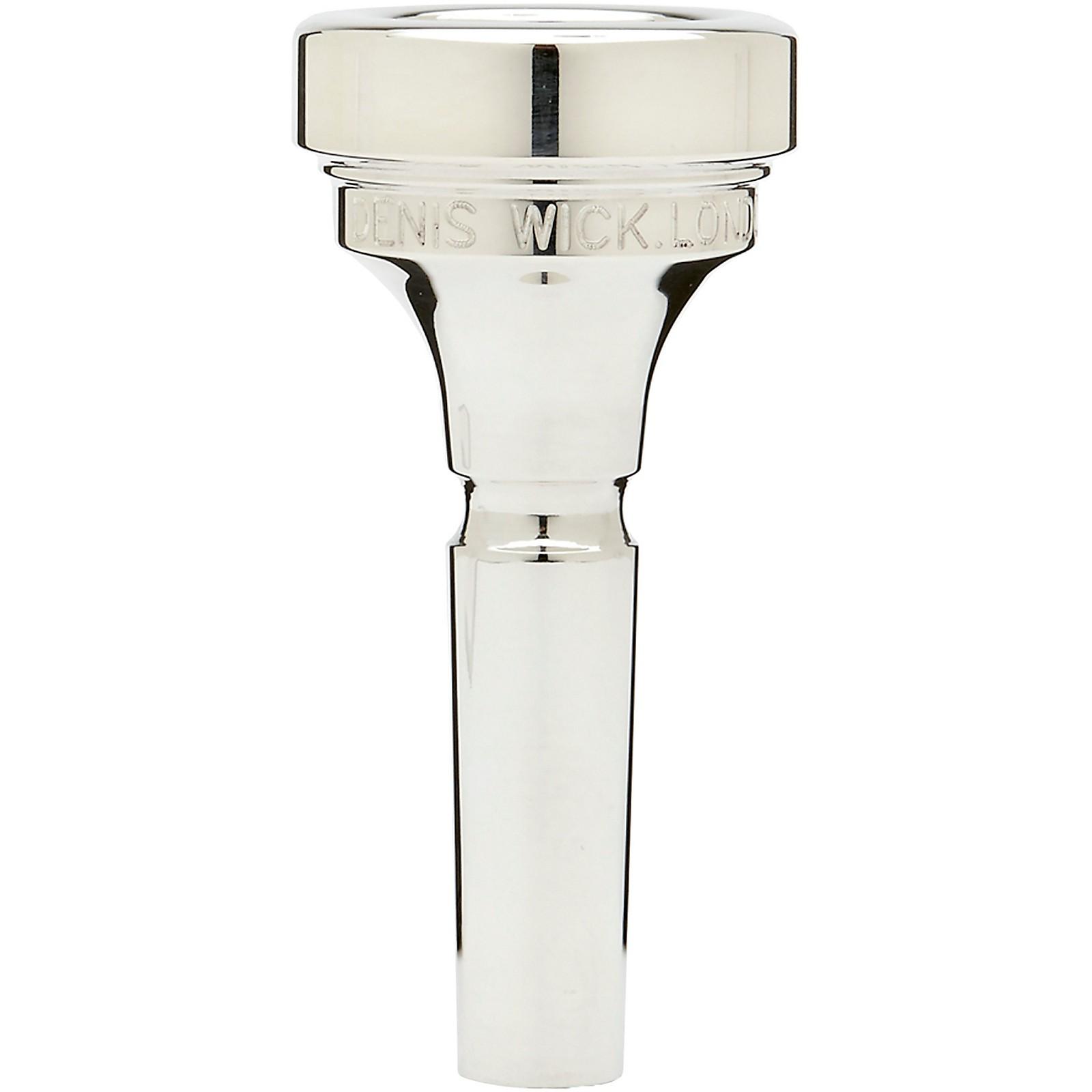 Denis Wick DW5880 Classic Series Trombone Mouthpiece in Silver