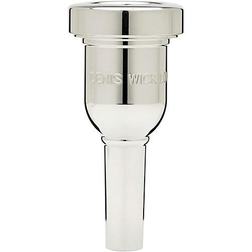 Denis Wick DW6880 HeavyTop Series Trombone Mouthpiece in Silver