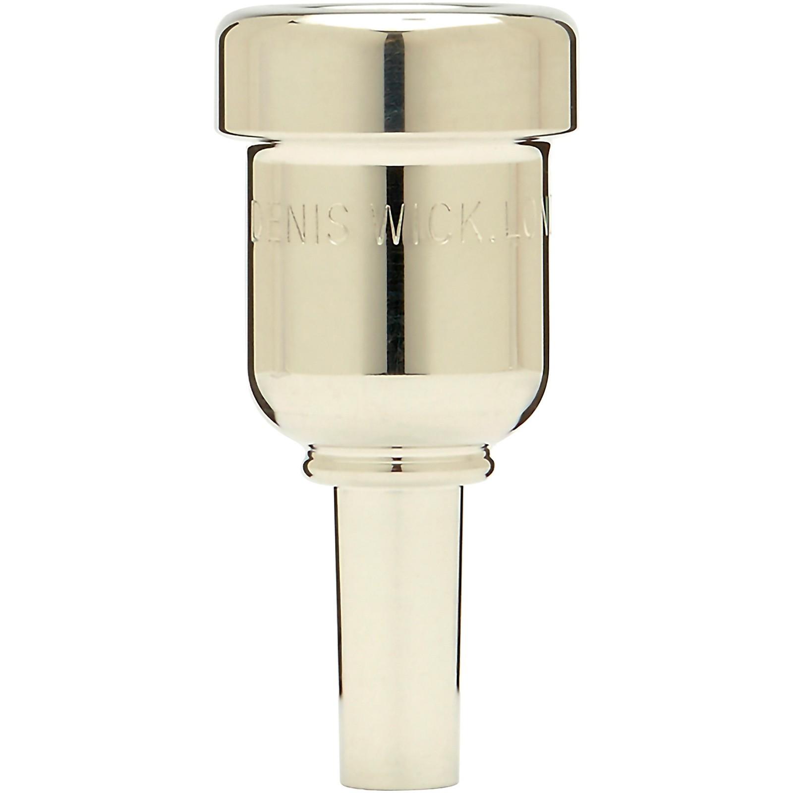 Denis Wick DW6881 HeavyTop Series Cornet Mouthpiece in Silver