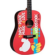 DX Woodstock 50th Anniversary Dreadnought Acoustic-Electric Guitar Natural
