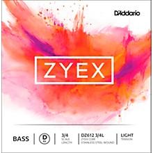 DZ612 Zyex 3/4 Bass Single D String Light