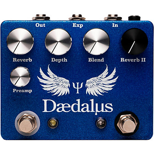 CopperSound Pedals Daedalus Reverb Effects Pedal