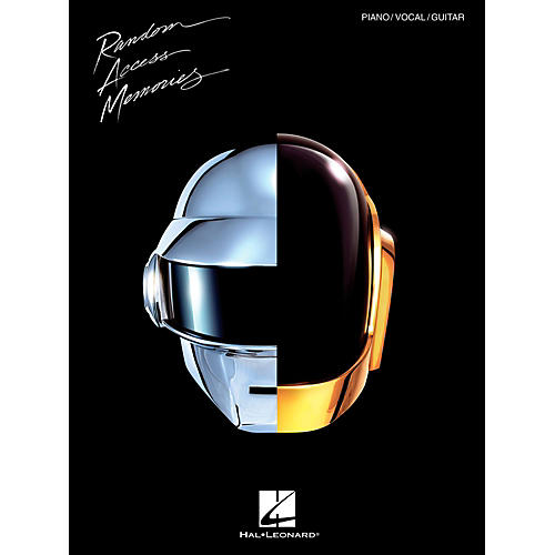 Hal Leonard Daft Punk - Random Access Memories for Piano/Vocal/Guitar
