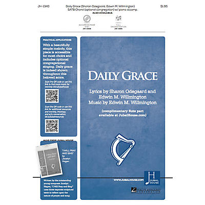 Jubal House Publications Daily Grace ORCHESTRA ACCOMPANIMENT Composed by Edwin M. Willmington