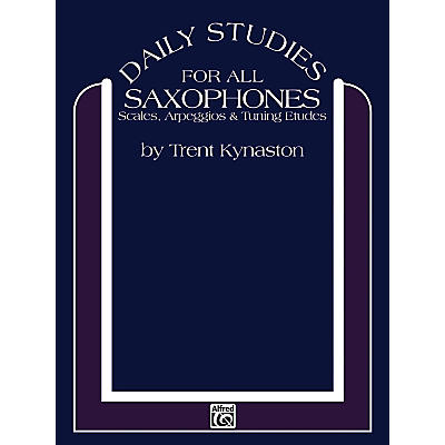 Alfred Daily Studies for Saxophones