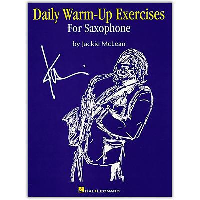 Hal Leonard Daily Warm Ups & Exercises for Saxophone