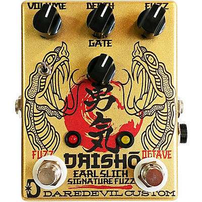 Daredevil Pedals Daisho Earl Slick Signature Octave Fuzz Effects Pedal