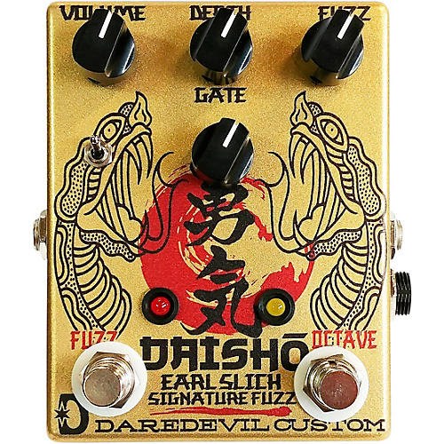 Daredevil Pedals Daisho Earl Slick Signature Octave Fuzz Effects Pedal Condition 1 - Mint