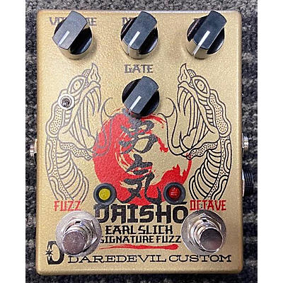 Daredevil Pedals Daisho Octave Fuzz - Earl Slick Signature Effect Pedal