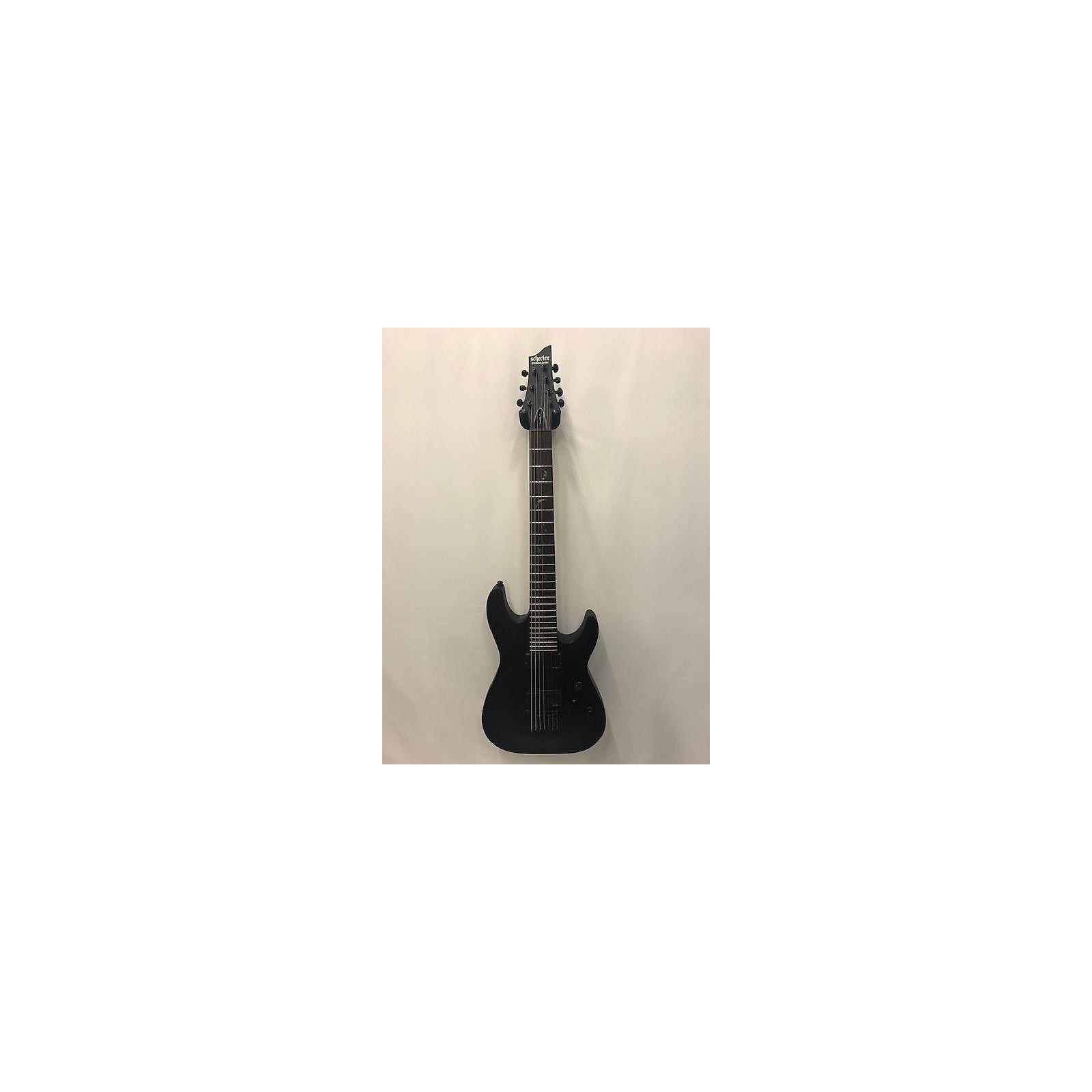 Schecter Guitar Research Damien 7 String Solid Body Electric Guitar