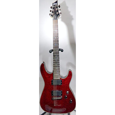 Schecter Guitar Research Damien Elite 6 Solid Body Electric Guitar