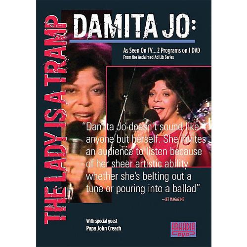 Hal Leonard Damita Jo - The Lady Is a Tramp (Visions of Jazz Series) DVD Series DVD Performed by Damita Jo