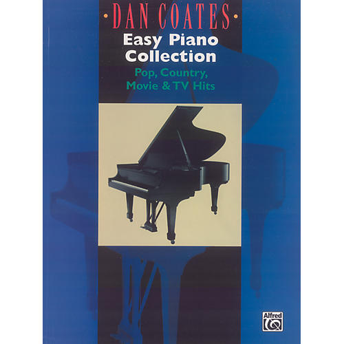Alfred Dan Coates Easy Piano Collection (Pop Country Movie & TV Hits)