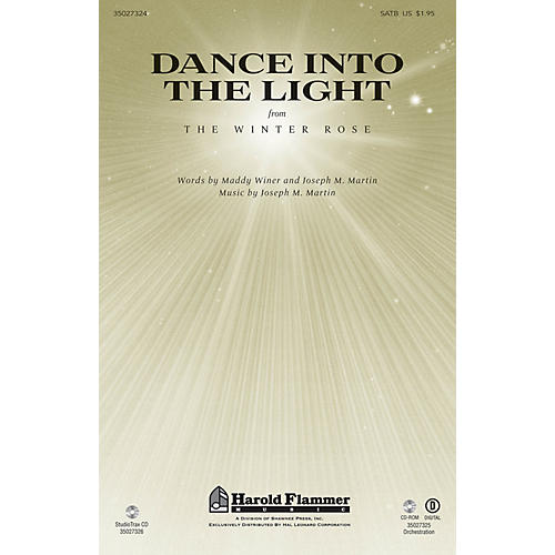 Shawnee Press Dance Into the Light (from The Winter Rose) SATB composed by Joseph M. Martin