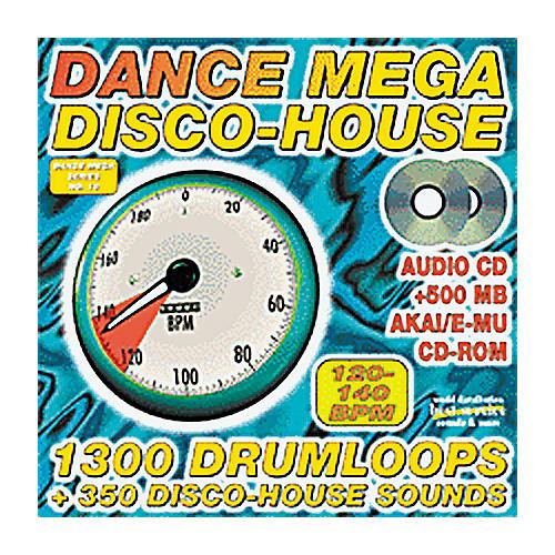 EastWest Dance Mega Disco House Audio/Wav Sample CD Rom