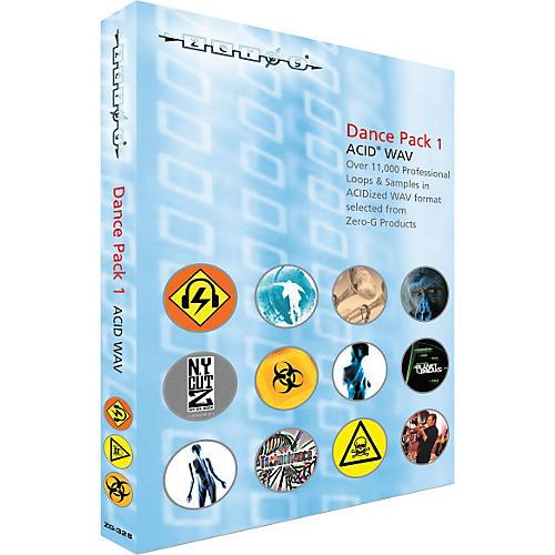Zero G Dance Pack 1 ACID WAV Sample Library (2 DVD Set)